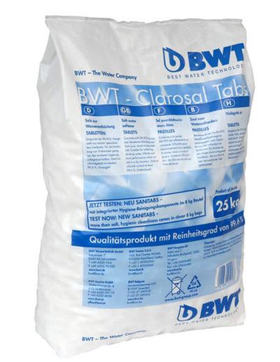 BWT által ajánlott Clarosal regeneráló só