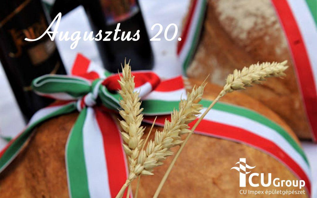 Augusztus 20-i ünnepi nyitvatartás